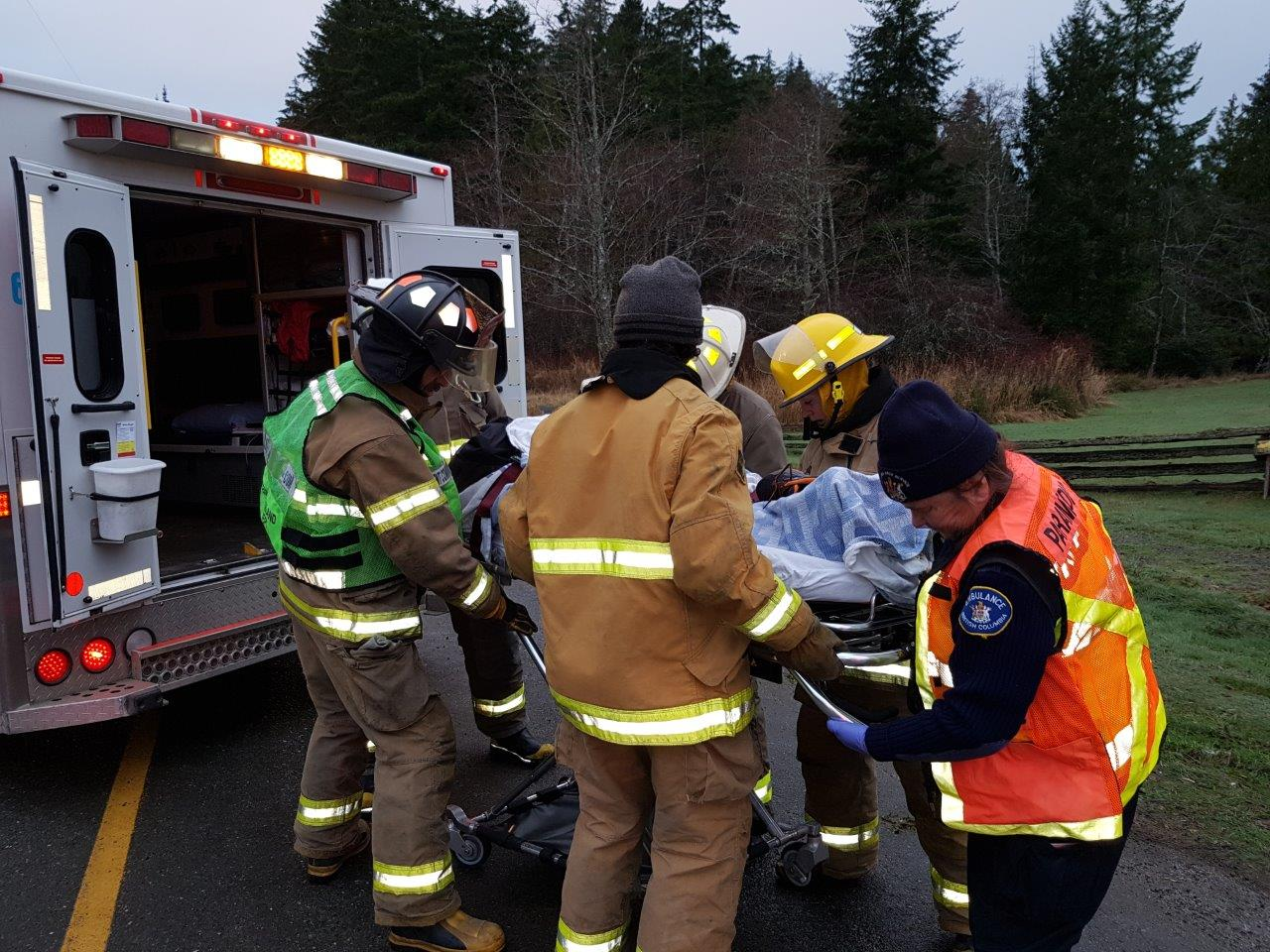 first responders  u2013 denman island fire  u0026 rescue