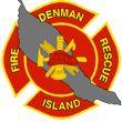 Denman Island Fire & Rescue Logo